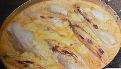 Chicory with cheese picture