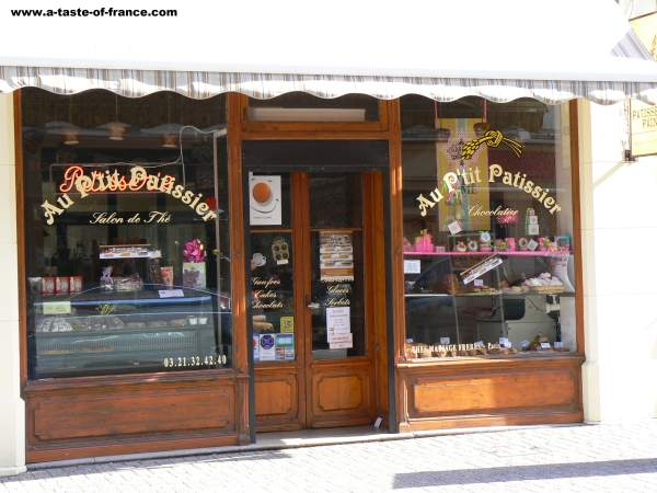 Chocolate shop Wimereux