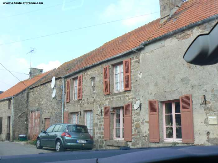 Cosqueville village in Normandy