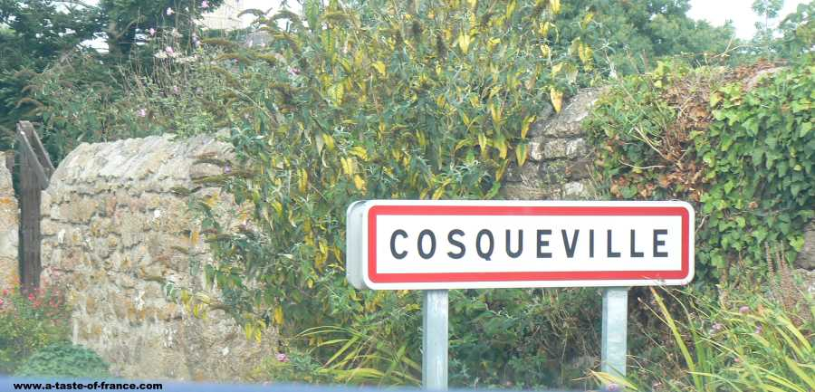 The village of Cosqueville