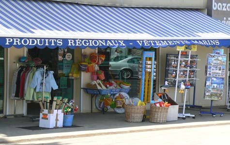Courseulles sur Mer shop Calvados  Normandy