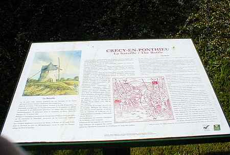 Crecy battle site picture