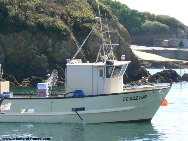 Doelan fishing boatBrittany