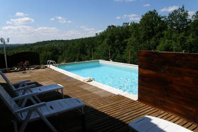 Private pool La Truffiere