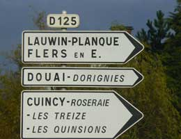 Douai sign picture