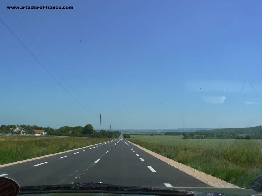 Road in France