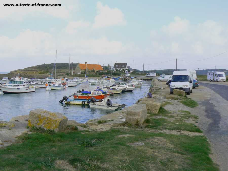 Le Cap Levi harbour Normandy France