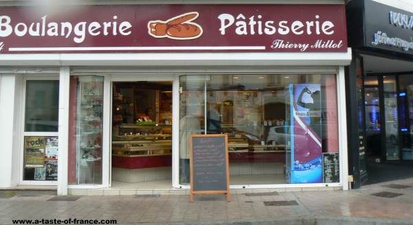 Etaples France bread shop picture