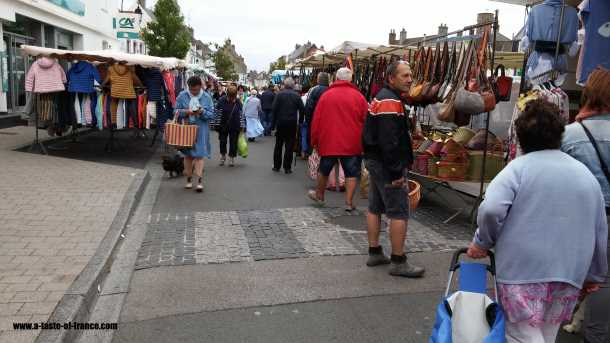 Etaples France  market picture