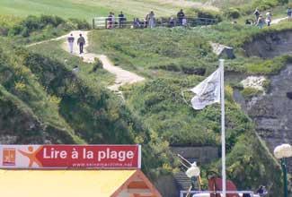 Etretat cliff walk Normandy