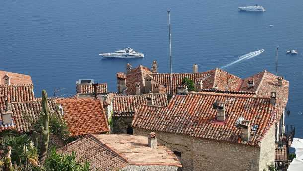 The old village of eze our visit photos and guide for Cafe du jardin eze