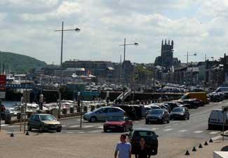 Fecamp port Normandy