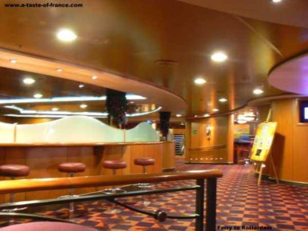 ferry bar area