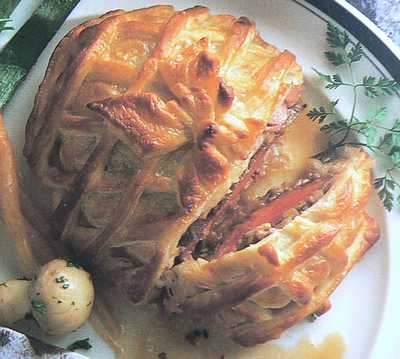 Fillet Steak in pastry picture