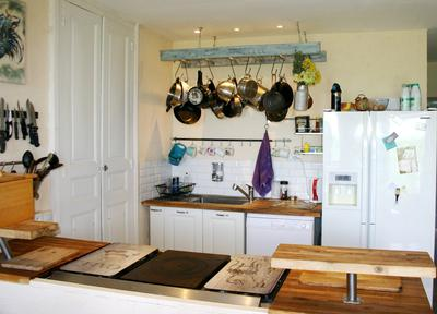 new kitchen and open plan dining