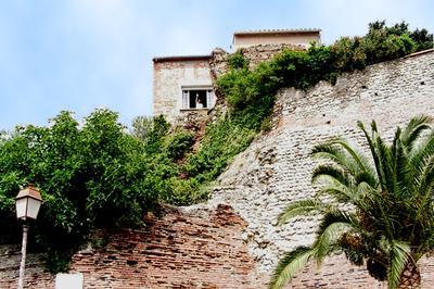 Villa build in the rampart