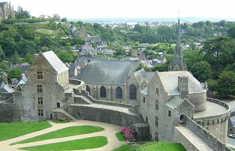 Fougeres castle Brittany