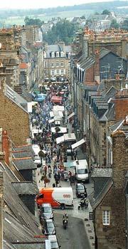 Fougeres market