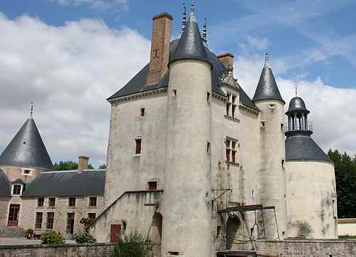 French chateau picture