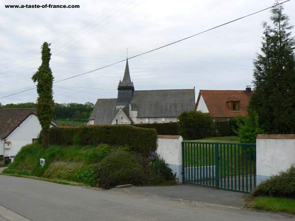 The village of Fressin house