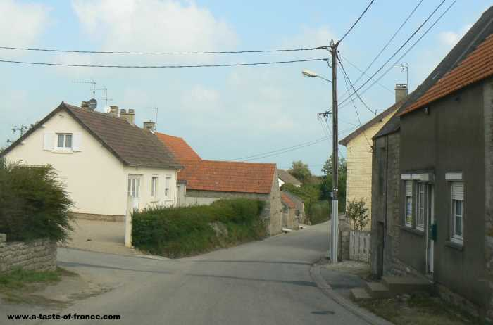 Gouberville village in Normandy