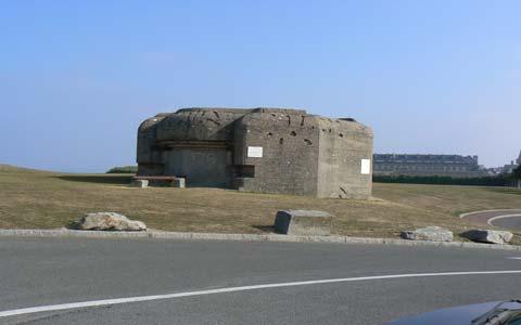 Granvills bunker WWll la manche Normandy