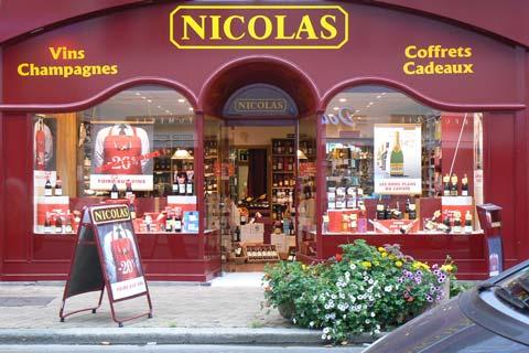 granville wine shop la Manche  Normandy