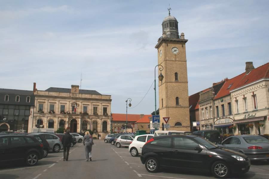 Gravelines town centre