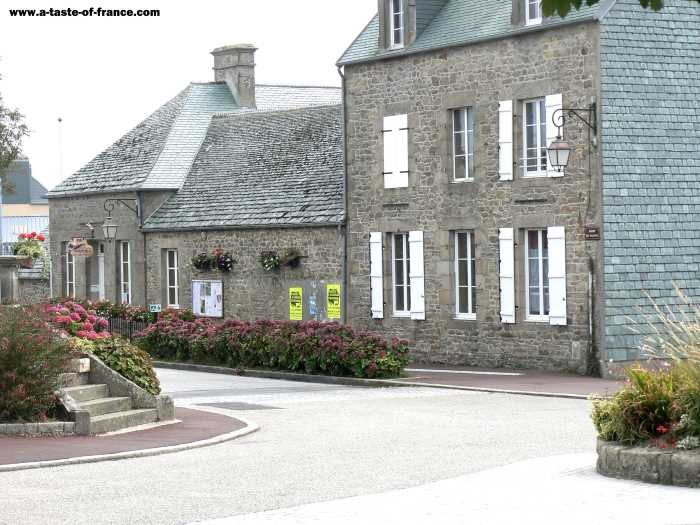 Greville Hague  village in Normandy