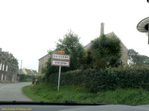 Guisseny sign post Brittany