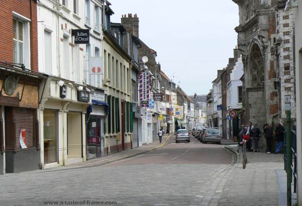 The town of Hesdin