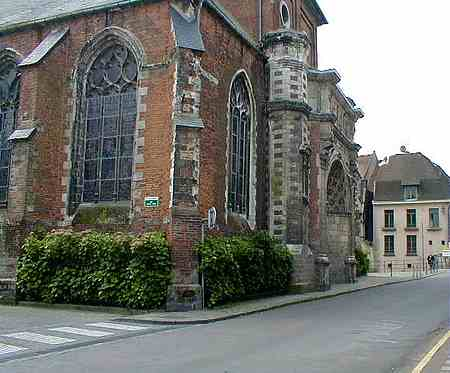 hesdin notre dame church picture