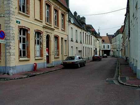 Hesdin France street