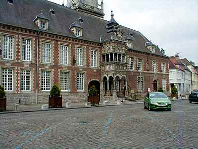 hesdin town hall picture