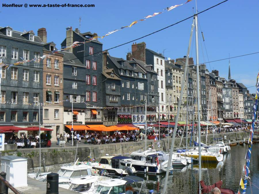 The harbour Honfleur