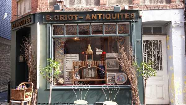 Honfleur antique shop  Normandy