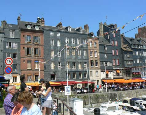 Honfleur harbour Normandy