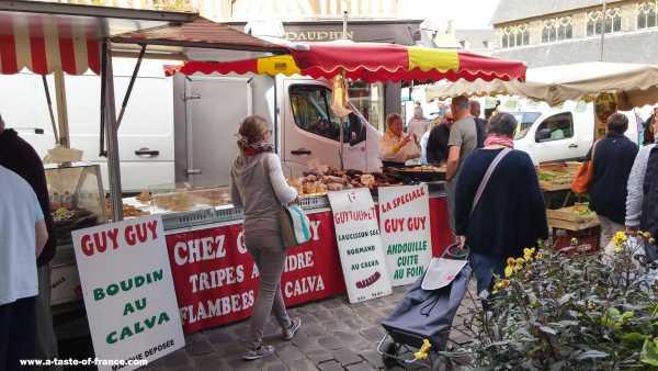 Honfleur market Normandy