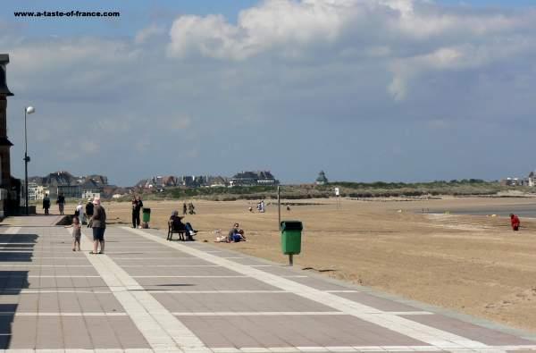 Houlgate beach  Calvados  Normandy