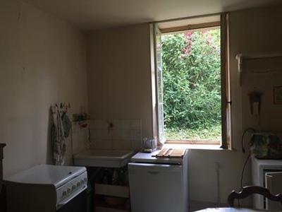 Kitchen overlooking back garden