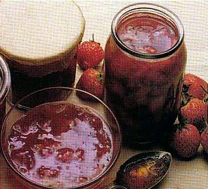 strawberry jam  picture
