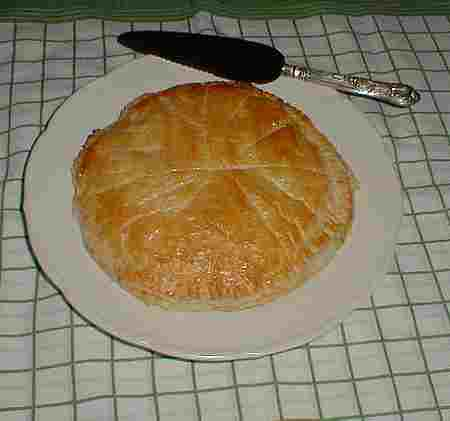 French almond tart picture