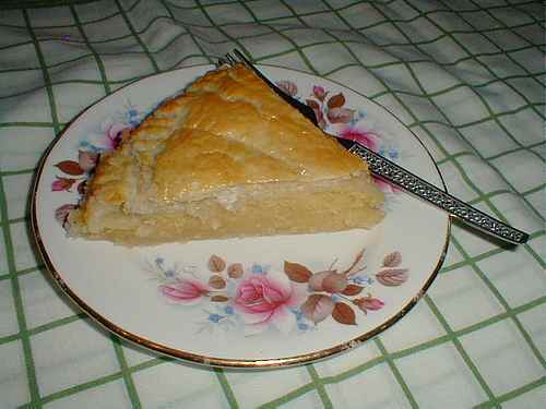 almond tart recipe picture