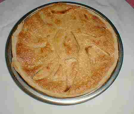 French apple tart picture