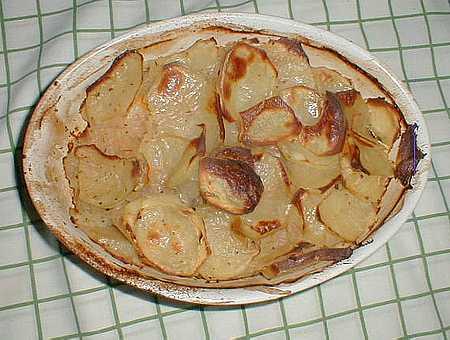 Boulangere potatoes picture