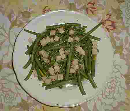 French bean salad recipe picture
