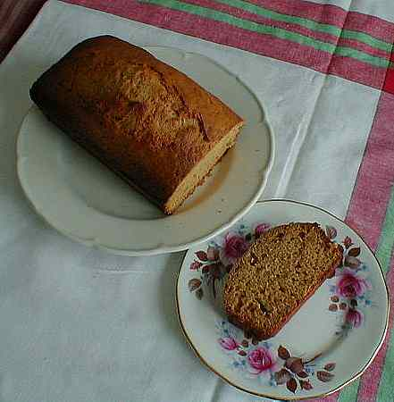 French honey spice cake picture