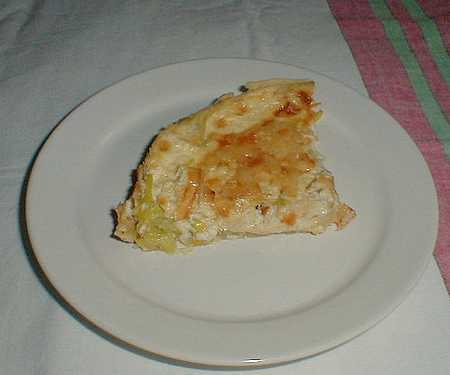leek flan recipe picture