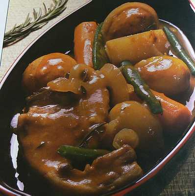 Navarin of lamb printanier with vegetables french recipe for Navarin recipe