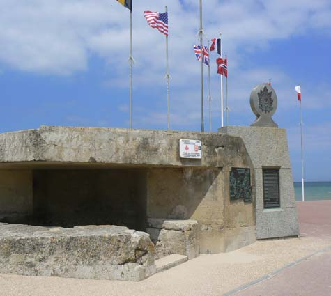 Langrune sur Mer WWll bunker Calvados  Normandy